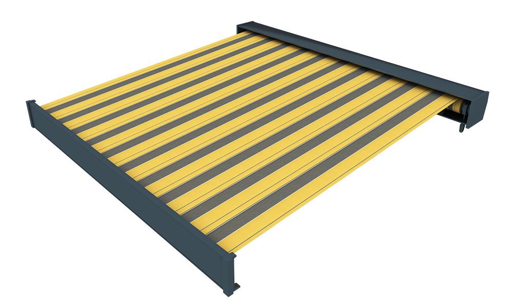 Markise-Kassettenmarkise-Sonnenschutz-elektrisch-4-50x3-m-Line-paramondo-B-Ware Indexbild 5