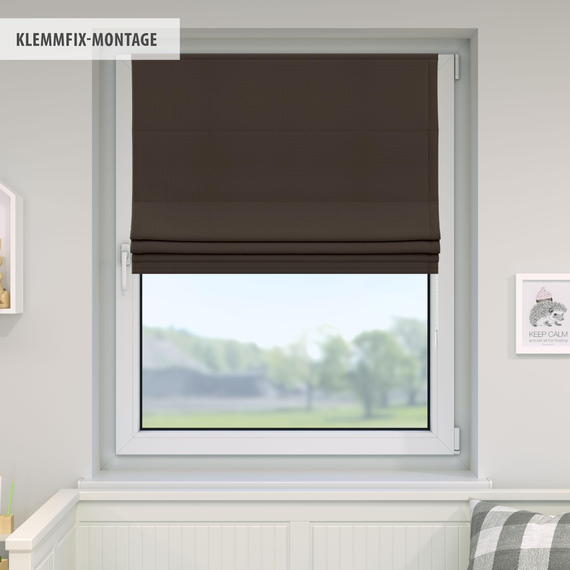 Raffrollo-Faltrollo-Klemmfix-ohne-Bohren-Fenster-Raffgardine-Gardine-VICTORIA-M Indexbild 17