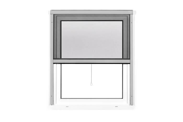 Fliegengitter-Insektenschutz-Rollo-Fenster-Insektenschutzrollo-Alu-Mueckenschutz Indexbild 13
