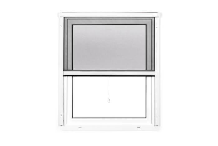 Fliegengitter-Insektenschutz-Rollo-Fenster-Insektenschutzrollo-Alu-Mueckenschutz Indexbild 3