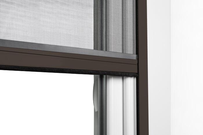 Fliegengitter-Insektenschutz-Rollo-Fenster-Insektenschutzrollo-Alu-Mueckenschutz Indexbild 24
