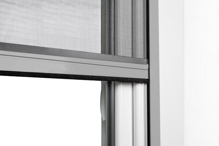 Fliegengitter-Insektenschutz-Rollo-Fenster-Insektenschutzrollo-Alu-Mueckenschutz Indexbild 14