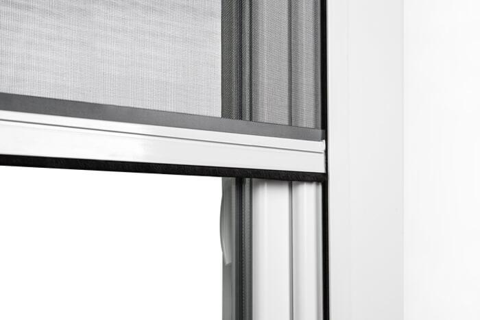 Fliegengitter-Insektenschutz-Rollo-Fenster-Insektenschutzrollo-Alu-Mueckenschutz Indexbild 4