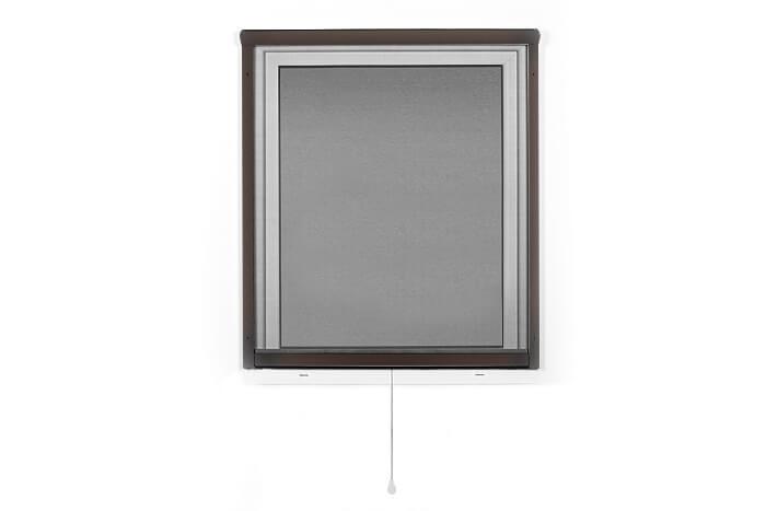 Fliegengitter-Insektenschutz-Rollo-Fenster-Insektenschutzrollo-Alu-Mueckenschutz Indexbild 25