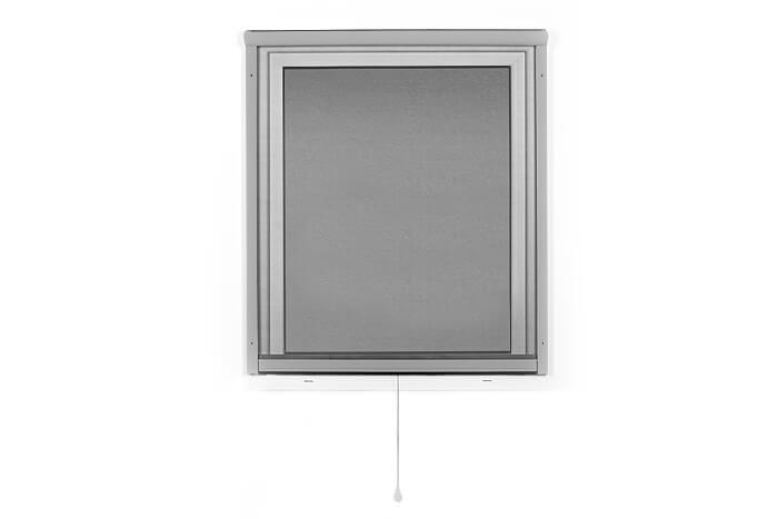 Fliegengitter-Insektenschutz-Rollo-Fenster-Insektenschutzrollo-Alu-Mueckenschutz Indexbild 15
