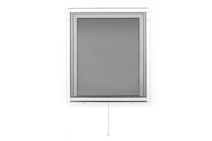 Fliegengitter-Insektenschutz-Rollo-Fenster-Insektenschutzrollo-Alu-Mueckenschutz Indexbild 5