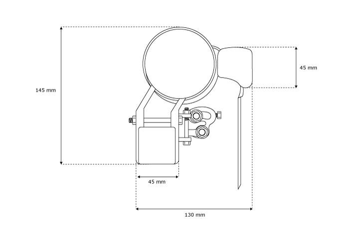 Markise-Sonnenschutz-Gelenkarmmarkise-Balkon-Handkurbel-295x200cm-Beige-B-Ware Indexbild 6