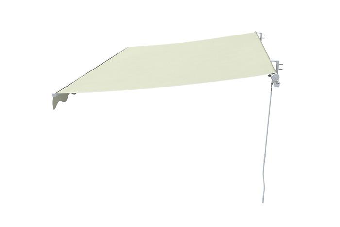 Markise-Sonnenschutz-Gelenkarmmarkise-Balkon-Handkurbel-295x200cm-Beige-B-Ware Indexbild 10