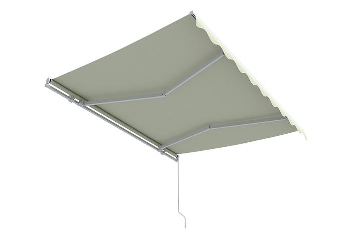 Markise-Sonnenschutz-Gelenkarmmarkise-Balkon-Handkurbel-295x200cm-Beige-B-Ware Indexbild 11